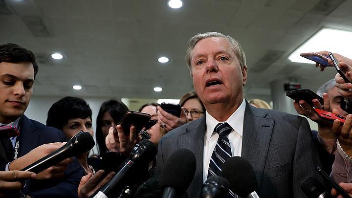 ABD'li Cumhuriyetçi Senatör Graham: Oturuma katılan senatörlerin MBS'nin suç ortağı olduğuna dair şüphesi yok