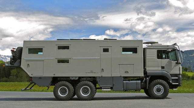 Zenginlerin yeni oyuncağı zırhlı karavan