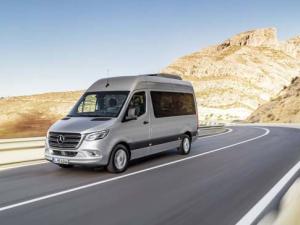 Yeni Mercedes Sprinter ortaya çıktı