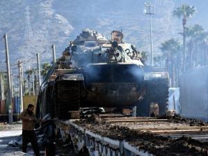 Suriye sınırına sevkiyatta dikkat çeken detay!