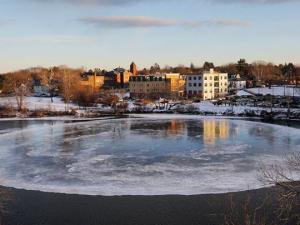 ABD'de herkesin ilgisini çeken olay: Buz diski oluştu