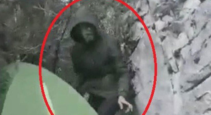 Samsun'un Vezirköprü ilçesi Şahinkaya Kanyonu'nda kaybolan Türkmenistan uyruklu gencin son görüntüsü