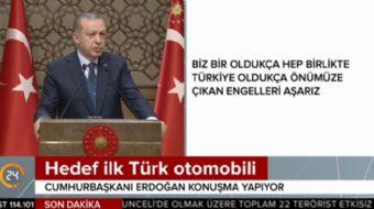 Cumhurbaşkanı Recep Tayyip Erdoğan, yerli otomobili üretecek babayiğitleri açıkladı!