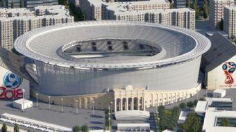 2018 FIFA Dünya Kupası stadyumu Yekaterinburg Arena´nın görüntüleri yayınlandı
