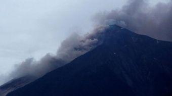 Orta Amerika ülkesi Guatemala'da Fuego Yanardağı'nın patlaması sonucu en az 25 kişi hayatını kaybett
