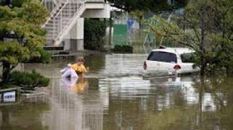 Japonya´da şiddetli yağışların yol açtığı sel ve toprak kaymalarında 15 kişinin hayatını kaybettiği,