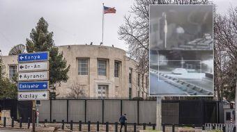 ABD'nin Ankara Büyükelçiliği´ne gerçekleştirilen silahlı saldırı ile ilgili son dakika görüntüler or