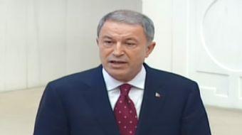 Milli Savunma Bakanı Hulusi Akar Meclis´te yemin etti