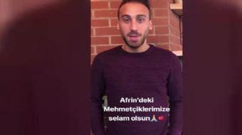 İngiltere Premier Lig ekiplerinden Everton´da forma giyen Cenk Tosun, Türk Silahlı Kuvvetlerinin Sur