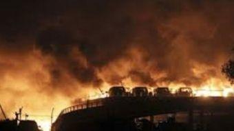 Çin'in Sichuan eyaletindeki bir kimyasal tesiste meydana gelen patlamada 19 kişi hayatını kaybetti.