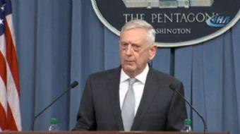 ABD Savunma Bakanı James Mattis, Suriye´ye yönelik operasyonun rejimi hedef aldığını belirterek ülke