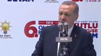 Cumhurbaşkanı Recep Tayyip Erdoğan Suriye´de oynanan oyun başkadır