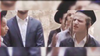 İşgal polisinin arkasına saklanıp Peygamber efendimize (SAV) hakaret eden; bir Filistinli genç üzeri