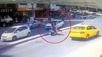 Şişli Fulya'da çalıştığı hastaneden çıktıktan sonra kaldırımdan yolun karşısına geçmeye çalışan yaba