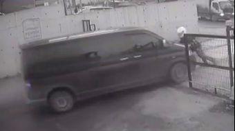 Pendik'te bir iş yerinin deposundan kamyon lastikleri çalan hırsızlara, lastikçi Fatih Zengin canı p