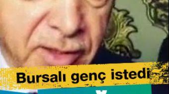 Cumhurbaşkanı Erdoğan, Cuma namazını kılmak için gittiği Ulu Cami´de, lösemi hastası olan annesi içi