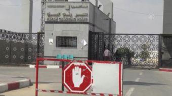 İsrail yönetimi, Gazze´nin tek ticari sınır kapısı olan Kerm Ebu Salim Sınır Kapısı´nda gıda ve ilaç