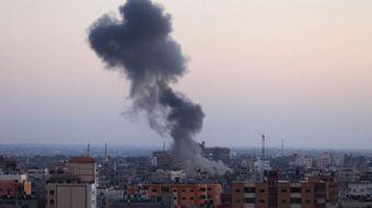 Suriye'nin güneyindeki Kuneytire kentinde Rusya tarafından gerçekleştirildiği ifade edilen hava sald