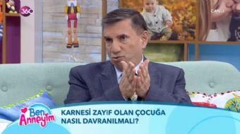 Prof. Dr. Üstün Dökmen karnesinde zayıf olan çocuğa nasıl davranılması gerektiğini şöyle ifade etti: