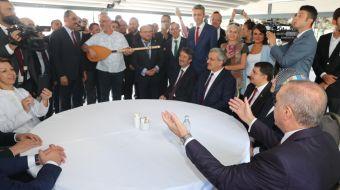 Cumhurbaşkanı Recep Tayyip Erdoğan, Kabataş Erkek Lisesi´nde 2018-2019 eğitim öğretim yılı açılışını