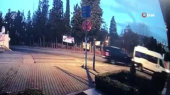 Kartal'da Barış Dalan'a ait lüks cipi çalan hırsızın vurulma anı kamerada