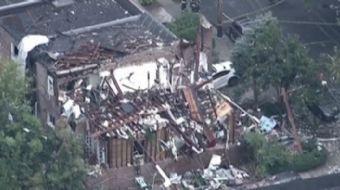 ABD'nin Teksas eyaletinde bir evde yaşanan patlama, böyle görüntülendi.