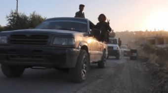 Türk Silahlı Kuvvetleri (TSK) ve Özgür Suriye Ordusu (ÖSO), Suriye´nin Afrin ilçe merkezi ve beldele