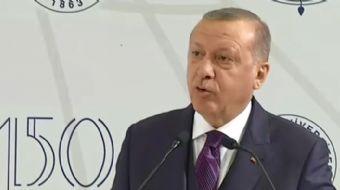 Cumhurbaşkanı Recep Tayyip Erdoğan: Fransa beton veriyor, stratejik ortak ABD 5000 TIR silah veriyor