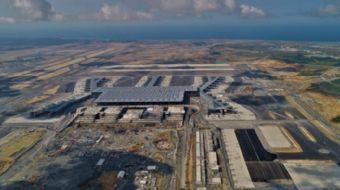 Cumhurbaşkanı Recep Tayyip Erdoğan´ın içinde olacağı uçak Türkiye'nin en önemli dev projelerinden İ