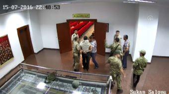 Fetullahçı Terör Örgütü´nün (FETÖ) 15 Temmuz darbe girişimi sırasında Jandarma Genel Komutanlığı kar