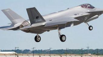 Türk F-35'lerinin ilk uçuşu görüntülendi