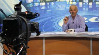 Eskişehir´de bir yerel televizyon kanalında spor yorumcusu olan Şükrü Oytan, canlı yayında kalp kriz