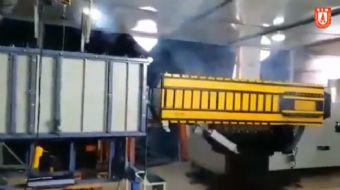 Tamamen yerli ve milli olarak üretilen Elektromanyetik Fırlatma Sistemi ŞAHİ209´un saha testlerine b