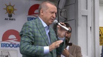 Cumhurbaşkanı Recep Tayyip Erdoğan, terör bölgesinden seçimlerle ilgili her türlü güvenlik önleminin