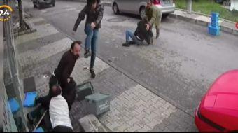 İstanbul´da eczacı ve müşteri arasında çıkan kavga güvenlik kameralarına yansıdı.