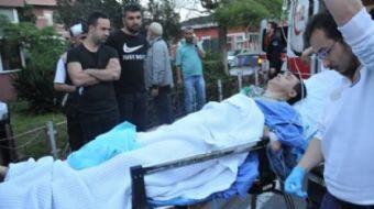 Ataşehir´de doktora silahlı saldırı kamerada
