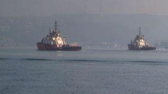 İstanbul Boğazı'nda arıza yapan Yunan bandıralı yük gemisi, Kıyı Emniyeti Genel Müdürlüğüne bağlı r