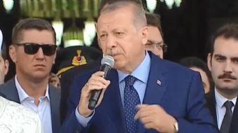 Cumhurbaşkanı Recep Tayyip Erdoğan 'Rabbim bize şehadet gibi makam veriyor. Bu hiçbir dinde yok'