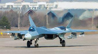 Rusya'nın ilk test uçuşunu gerçekleştirdiği 5. nesil savaş uçağı SU-57'nin Rusya Savunma Bakanlığı e