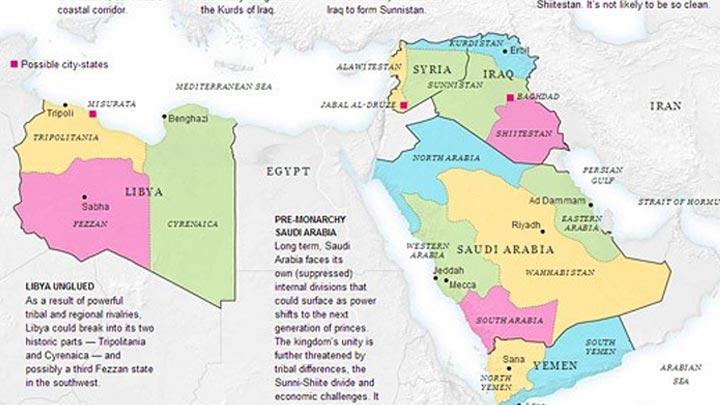 Dünya haritası yeniden çizilecek 45