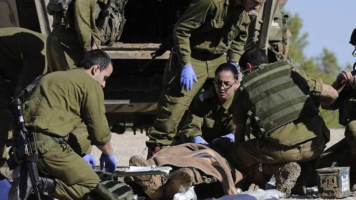 İsrail vuruyor  Kassam karşılık veriyor