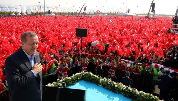 Cumhurbaşkanı Erdoğan 4 Ekimde Teröre Karşı Tek Ses mitingine katılacak 37