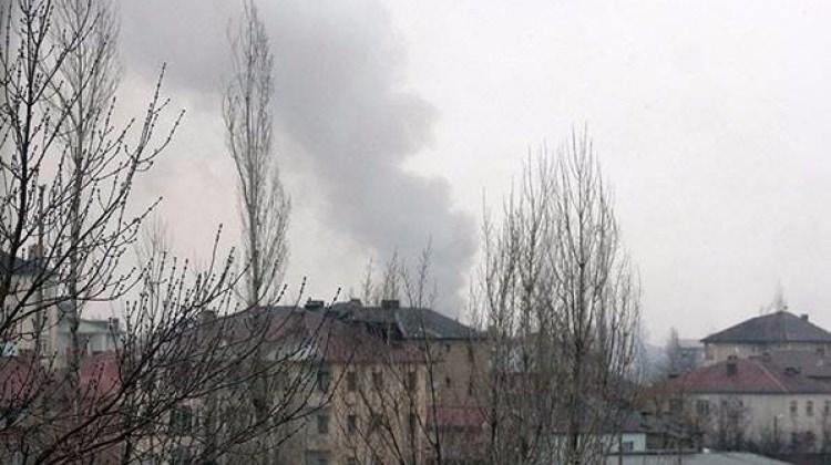 Yüksekova'da yoğun çatışma sesleri