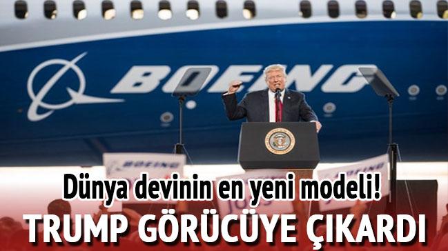 Dünya devinin en yeni modelini Trump tanıttı