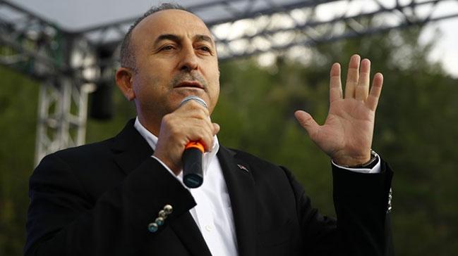 Çavuşoğlu: Vatandaş, Avrupadaki küstahlara Osmanlı tokadını gönderecek 99
