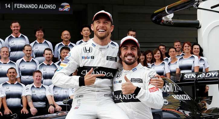 Fernando Alonso yerine Jenson Button!