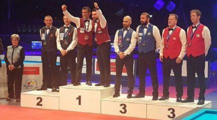 Bilardo Milli Takımı, Avrupa'da şampiyon oldu!