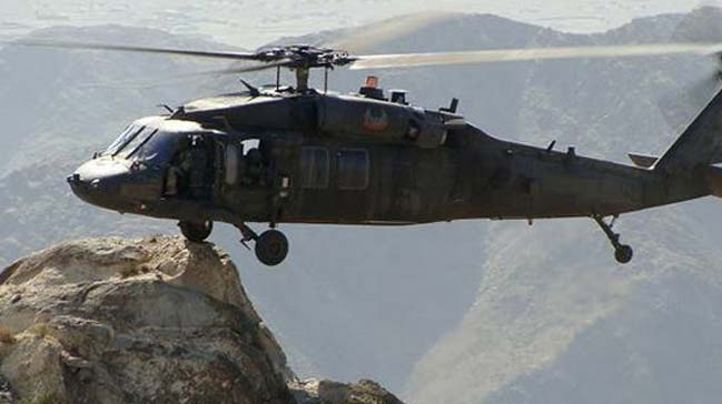 Roketle saldırı düzenlenen helikopter için TSKdan açıklama