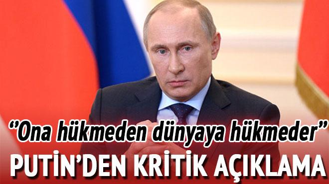 Putin tehlikeye dikkat çekti! 'Onu en iyi kullanan dünyaya hükmeder'
