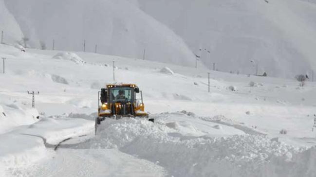 Erzurum,+Kars+ve+Ardahan%E2%80%99da+411+k%C3%B6y+yolu+kardan+kapand%C4%B1